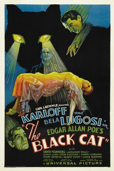 "The House of Doom, 1934, ""The Black Cat"" Directed by Edgar Ulmer--Giclee Print"