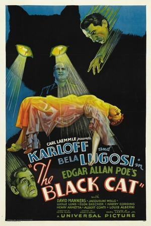 "The House of Doom, 1934, ""The Black Cat"" Directed by Edgar Ulmer"