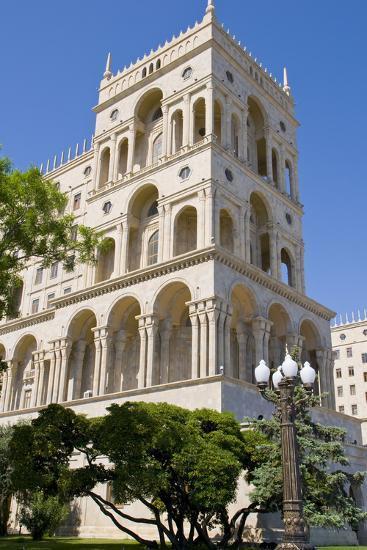 The House of Government, Baku, Azerbaijan-Michael Runkel-Photographic Print