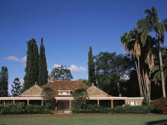 The House Of Karen Blixen Isak Dinesen Suburbs Nairobi Kenya