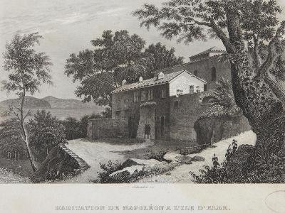 The House of Napoleon on the Island of Elba--Giclee Print