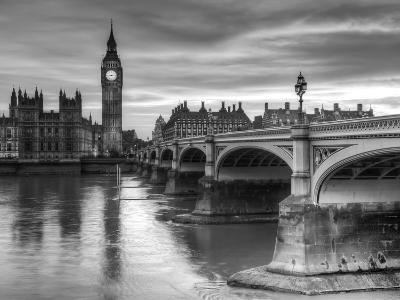 The House of Parliament and Westminster Bridge-Grant Rooney-Art Print