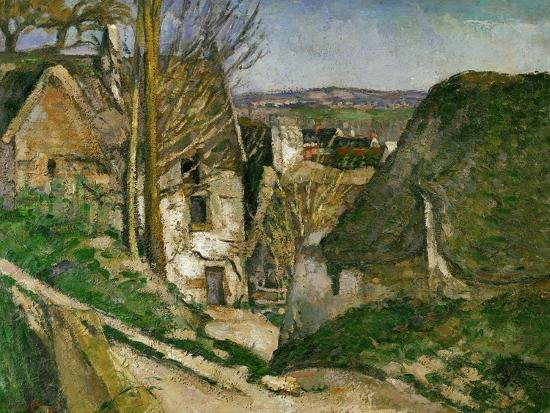 The House of the Hanged Man, 1873 Giclee Print by Paul Cézanne | Art com
