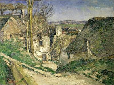 The House of the Hanged Man, Auvers-Sur-Oise, 1873-Paul C?zanne-Giclee Print