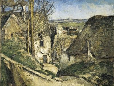 The House of the Hanged Man, Auvers-Sur-Oise-Paul C?zanne-Art Print