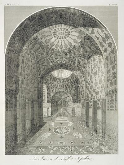 The House of the Jew at Isfahan-French-Giclee Print