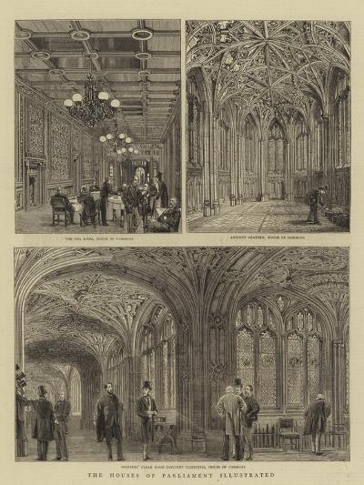 The Houses of Parliament Illustrated--Giclee Print