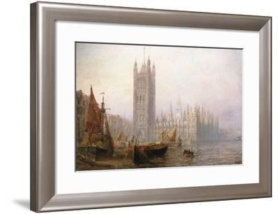 The Houses of Parliament, London-Claude T^ Stanfield Moore-Framed Giclee Print