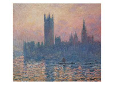 The Houses of Parliament, Sunset, 1903-Claude Monet-Giclee Print