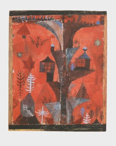The Houses-Tree-Paul Klee-Collectable Print