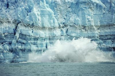 The Hubbard Glacier Is Tidewater Glacier, Tongass NF, Alaska-Howie Garber-Photographic Print
