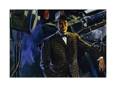 The Hughes Tool Company Was at the Centre of Howard Hughes' Wealth--Giclee Print