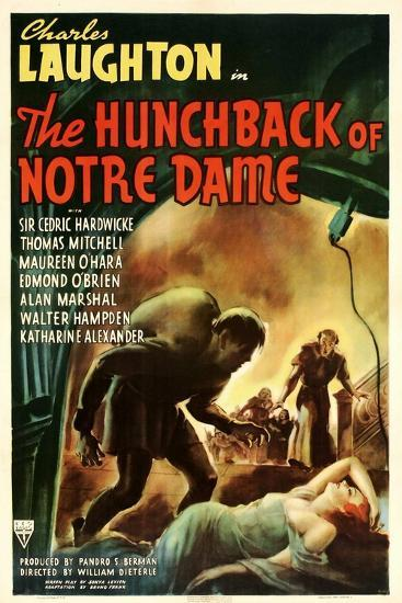 The Hunchback of Notre Dame, 1939--Art Print