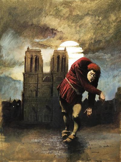The Hunchback of Notre Dame-Arthur Ranson-Giclee Print