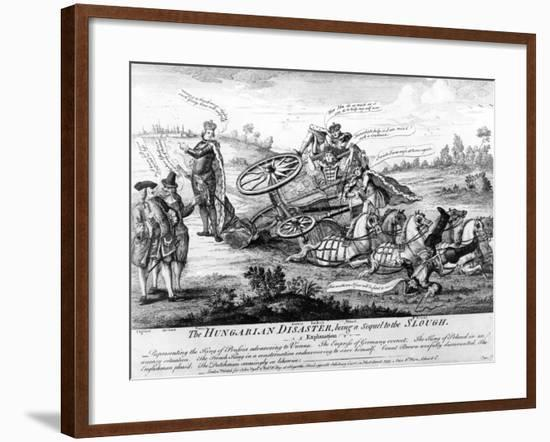 The Hungarian Disaster--Framed Giclee Print