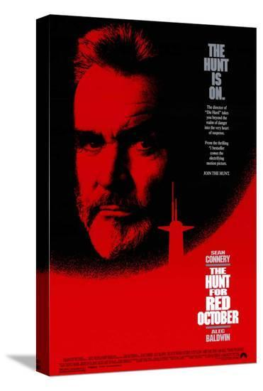 The Hunt for Red October--Stretched Canvas Print
