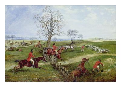 The Hunt-Henry Thomas Alken-Giclee Print