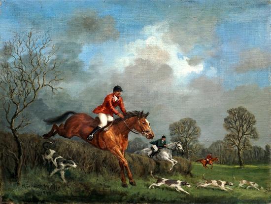 The Hunt-Richard Willis-Giclee Print