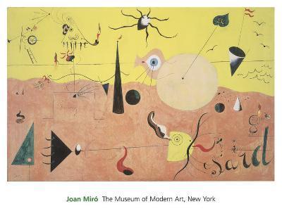 The Hunter-Joan Mir?-Art Print