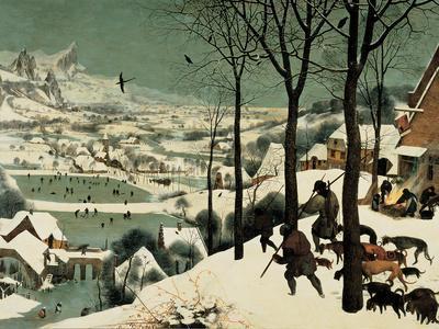 The Hunters in the Snow-Pieter Bruegel the Elder-Giclee Print