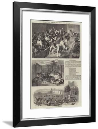 The Hunting Season, Economy of the Kennel--Framed Giclee Print