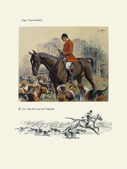 The Hunts Man-Snaffles-Premium Giclee Print