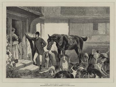 The Huntsman's Courtship-John Charlton-Giclee Print