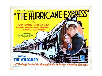 The Hurricane Express, Shirley Grey, John Wayne, 1932--Giclee Print