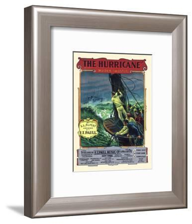 The Hurricane-A. Hoen-Framed Art Print