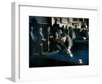 The Hustler, Paul Newman, Directed by Robert Rossen, 1961--Framed Photo