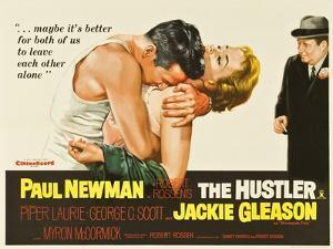 The Hustler, UK Movie Poster, 1961