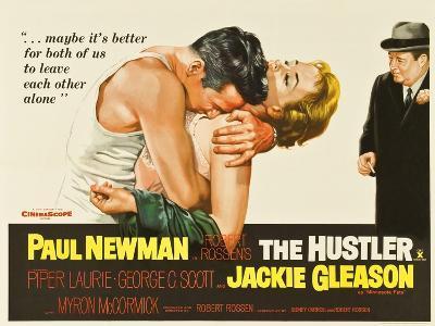 The Hustler, UK Movie Poster, 1961--Art Print