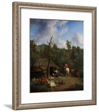 The Hut, 1671-Adriaen van de Velde-Framed Giclee Print