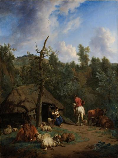 The Hut, 1671-Adriaen van de Velde-Giclee Print