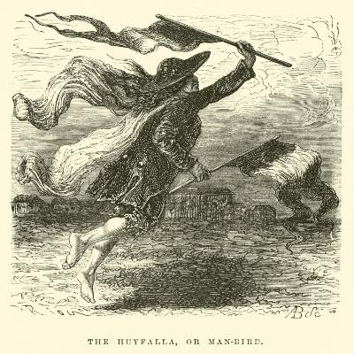The Huyfalla, or Man-Bird-?douard Riou-Giclee Print