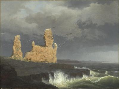 The Icelandic Coast, 1889-Johann Christian Ezdorf-Giclee Print