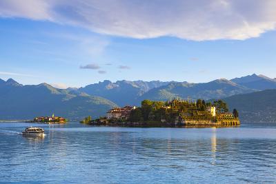 The Idyllic Isola Dei Pescatori and Isola Bella, Borromean Islands, Lake Maggiore, Piedmont, Italy-Doug Pearson-Photographic Print