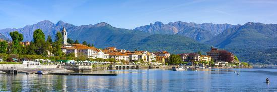 The Idyllic Lakeside Village of Baveno, Lake Maggiore, Piedmont, Italy-Doug Pearson-Photographic Print