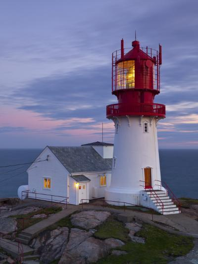 The Idyllic Lindesnes Fyr Lighthouse, Lindesnes, Norway-Doug Pearson-Photographic Print