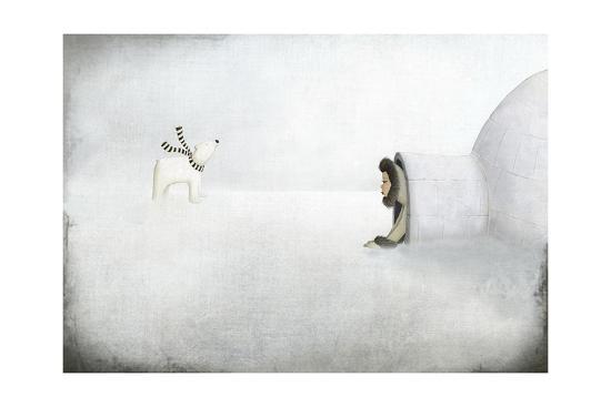 The Igloo-Maja Lindberg-Art Print