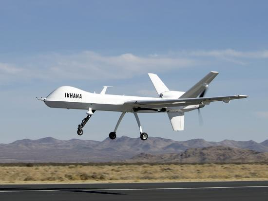 The Ikhana Unmanned Aircraft-Stocktrek Images-Photographic Print