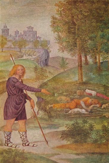 'The Illusion of Cephalus', 1520-1522-Bernardino Luini-Giclee Print