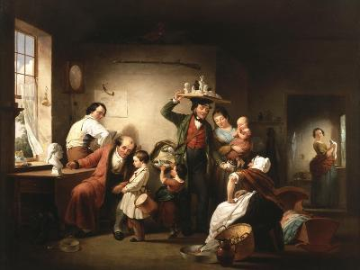 The Image Pedlar, C.1844-Francis William Edmonds-Giclee Print
