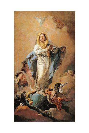 The Immaculate Conception, 1767-1769-Giovanni Battista Tiepolo-Giclee Print