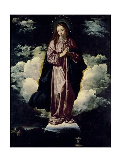 The Immaculate Conception, C.1618-Diego Velazquez-Giclee Print
