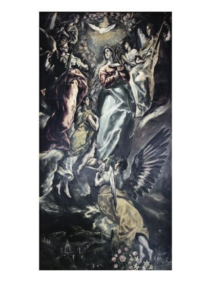 The Immaculate Conception-El Greco-Giclee Print