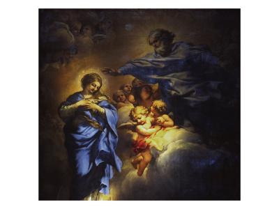 The Immaculate Conception-Umberto Veruda-Giclee Print
