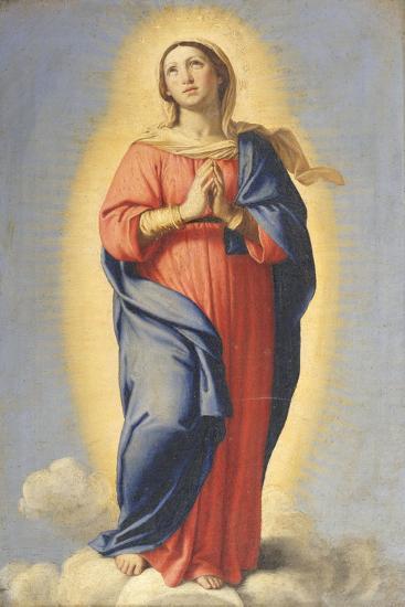 The Immaculate Conception-Il Sassoferrato-Giclee Print
