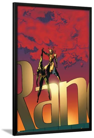 The Immortal Iron Fist No.19 Cover: Iron Fist-Travel Foreman-Lamina Framed Poster