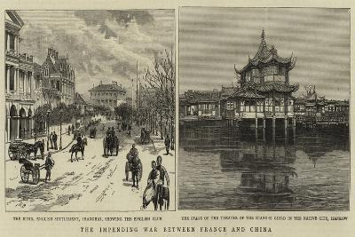 The Impending War Between France and China--Giclee Print